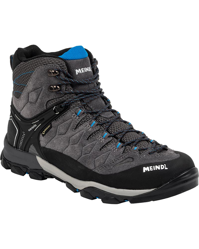 Meindl Men's Tereno Mid GORE-TEX Walking Boots Grey/Blue 0
