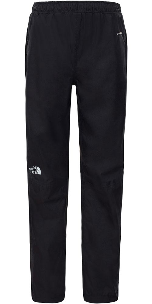 The North Face Youth Resolve DryVent Waterproof Pants TNF Black 0