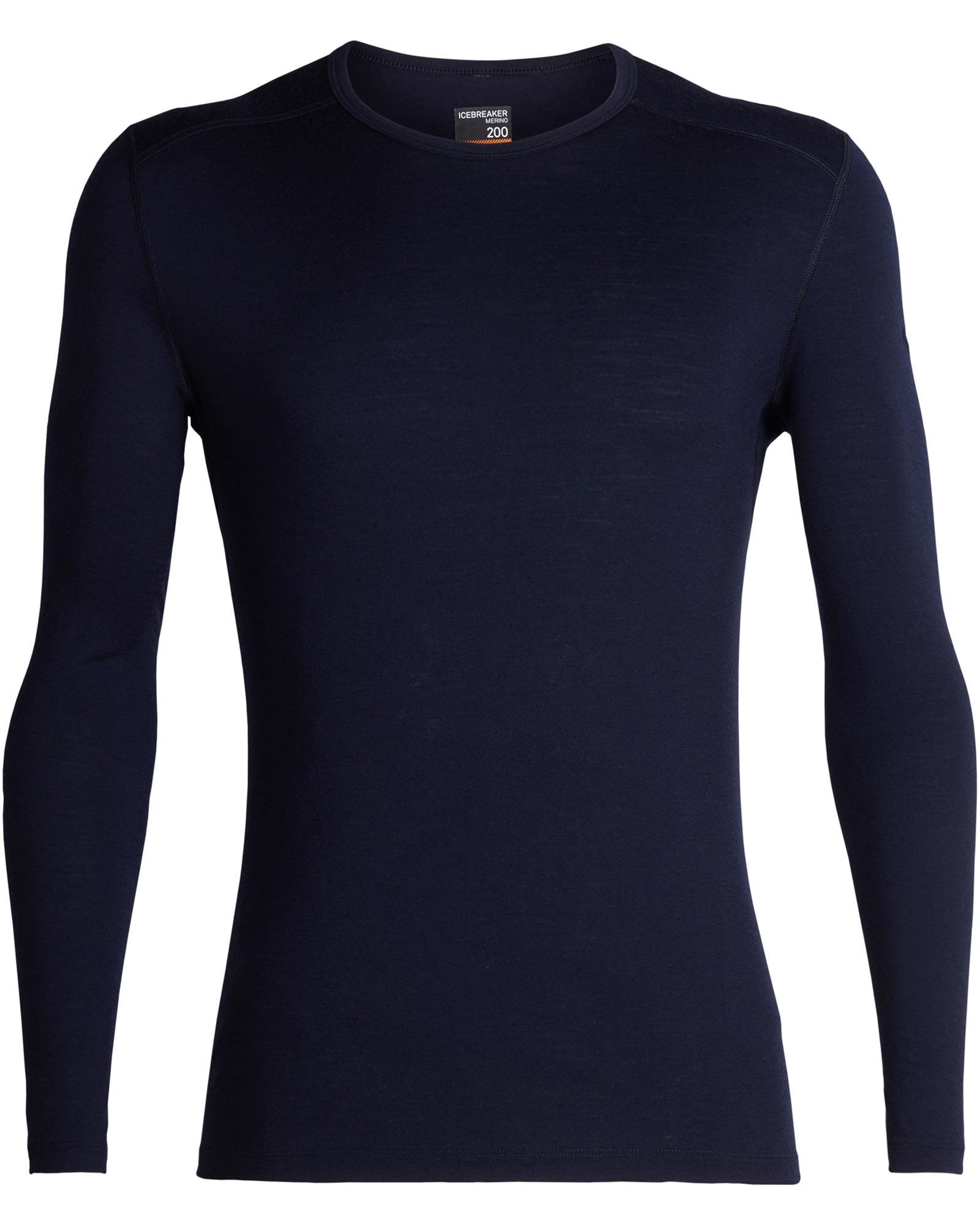 Icebreaker Men's Merino Bodyfit 200 Oasis L/S Crew 0