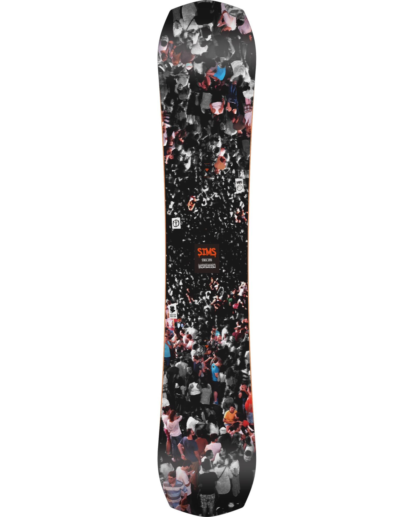 Sims Men's Distortion Snowboard 2020 / 2021 0