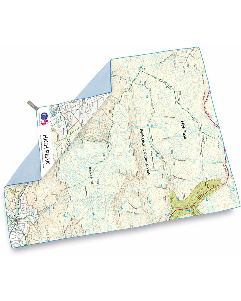 Product image of Lifeventure SoftFibre OS Map Towel - Giant - High Peak