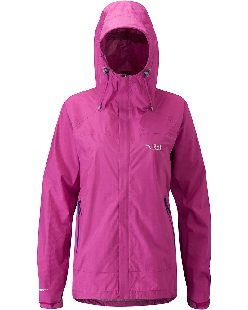 Rab Women's Fuse Pertex Shield Jacket Peony 0
