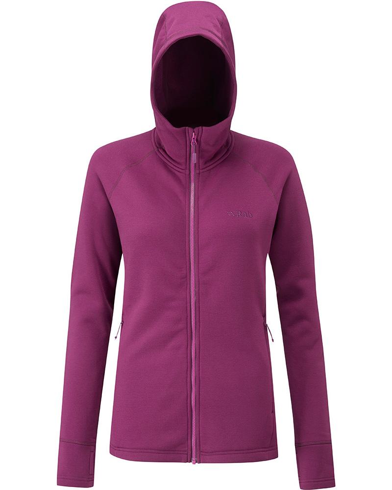 RAB Power Stretch Pro Hooded Fleece Jacket Mens