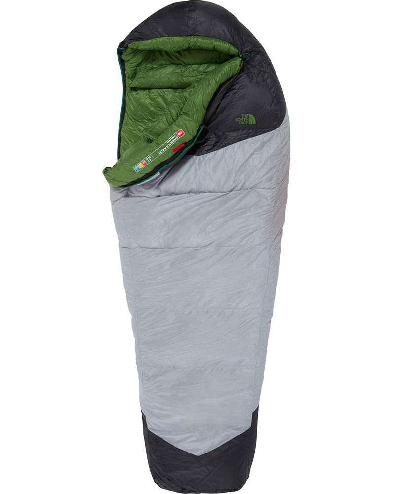 The North Face Green Kazoo Long Sleeping bag 0