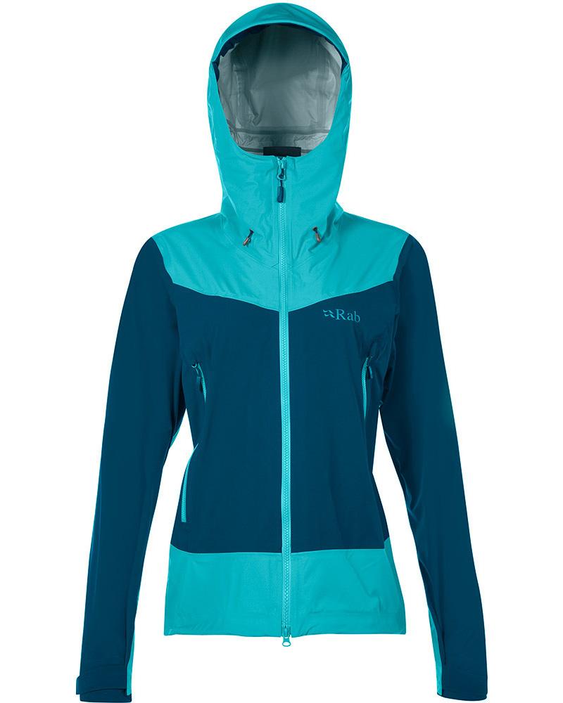 Rab Women's Mantra Pertex Shield Pro Jacket Serenity 0