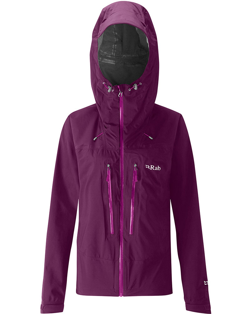 Rab Women's Spark Pertex Shield Jacket Berry 0