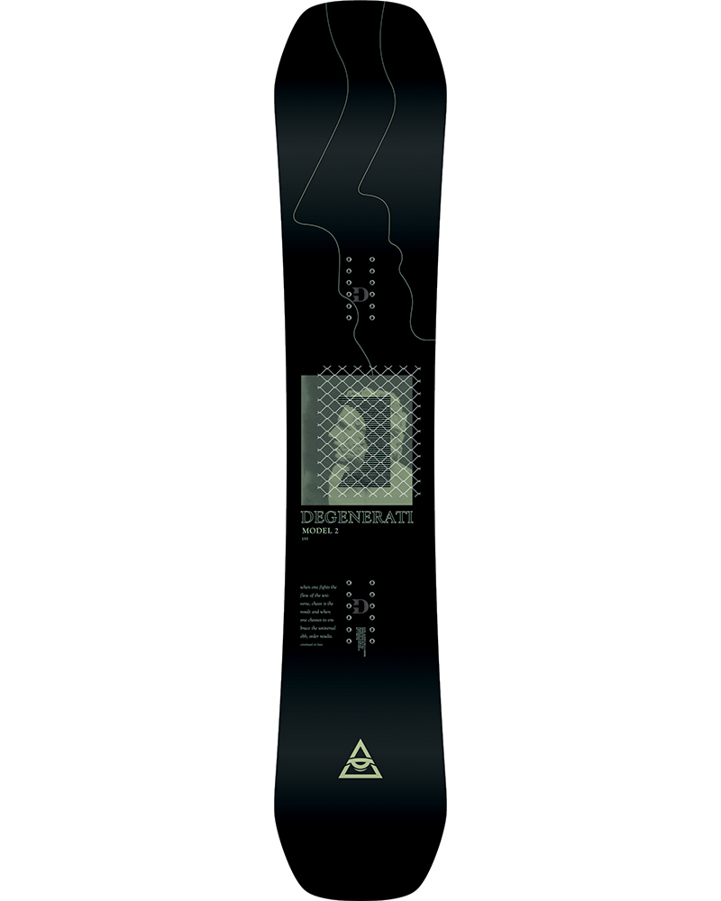Rome Men's Degenerati Model 2 Snowboard 2019 / 2020 No Colour 0