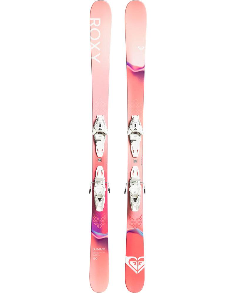 Roxy Women's Shima 85 Freestyle Skis + Lithium 10 GW Bindings 2019 / 2020 0