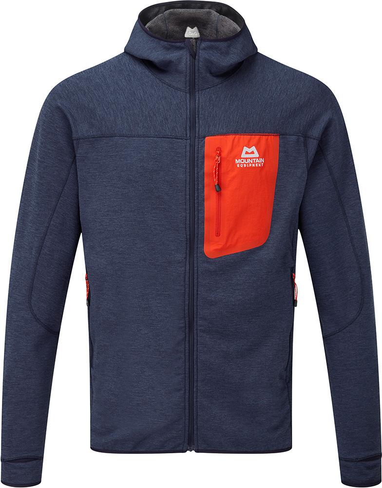Mountain Equipment Men's Merino Pivot Hooded Jacket Ombre Blue 0
