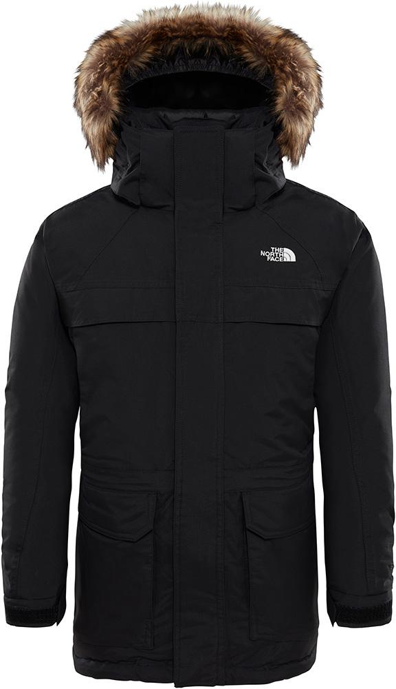 The North Face Boys' McMurdo DryVent Parka Jacket TNF Black 0