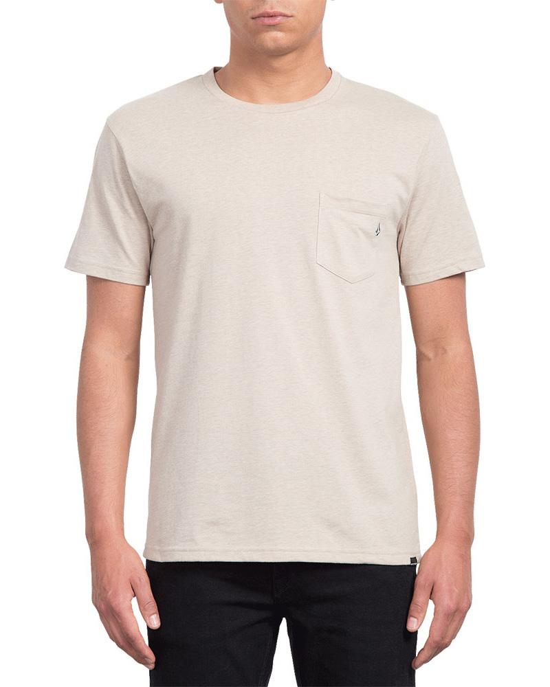 Volcom Men's Pckt Hth Short Sleeve T-Shirt 0