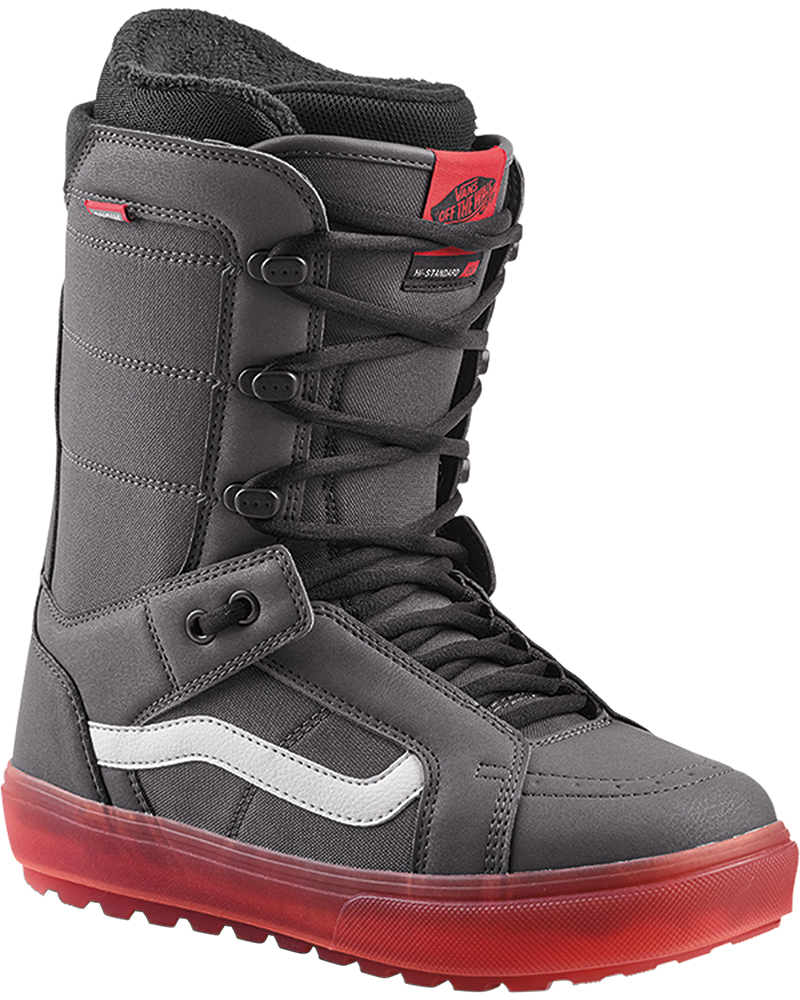 Vans Men's Hi Standard Snowboard Boots 2019 / 2020 Grey/Red 0