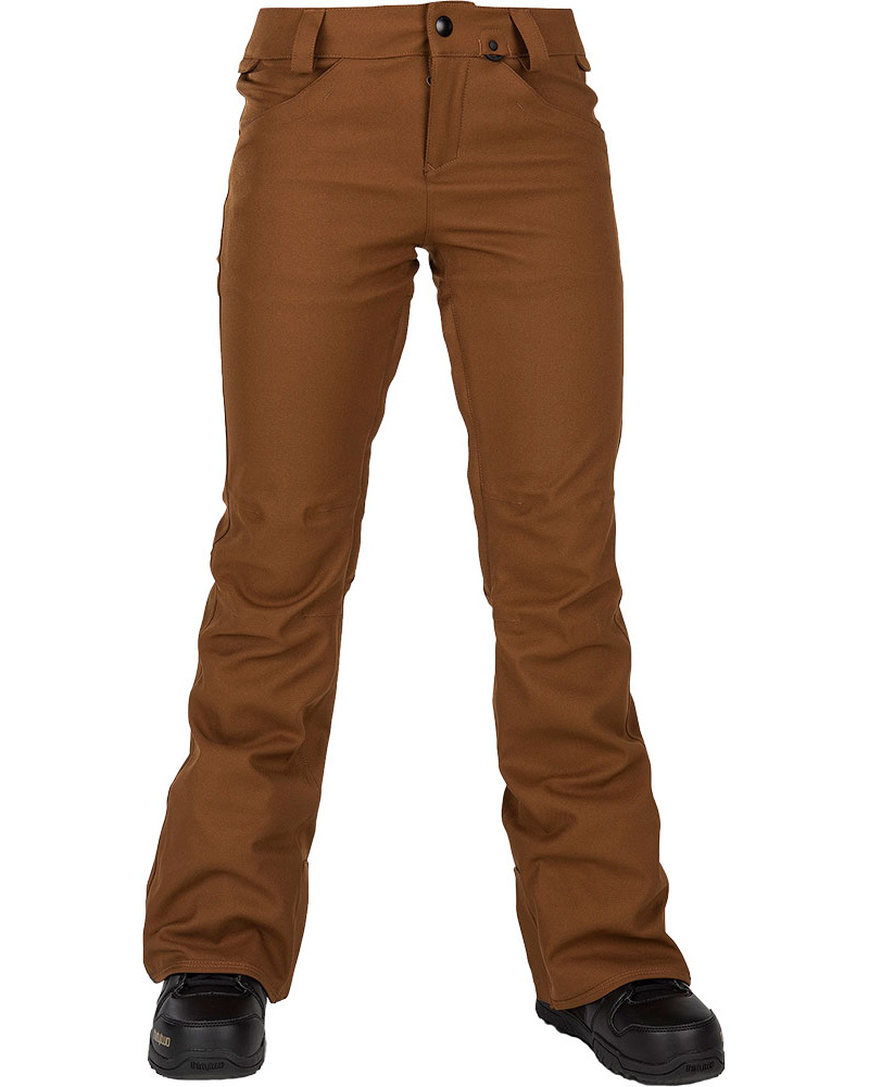 Volcom Women's Species Stretch Snowboard Pants 2019 / 2020 Copper 0