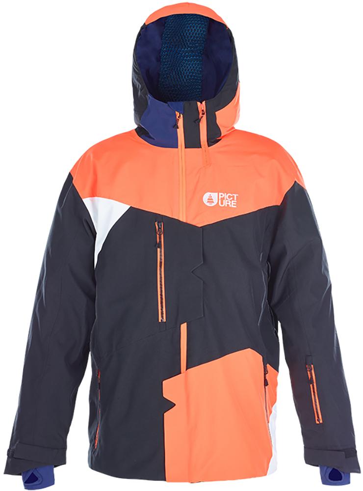 Picture Nova Ski Jacket Black/Orange 0