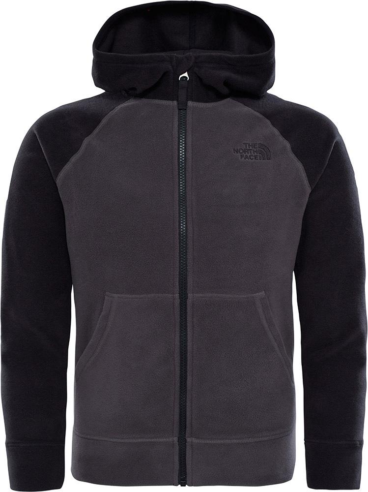 The North Face Boys' Glacier Fleece Hoodie Graphite Grey 0