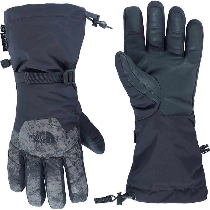 The North Face Women's Revelstoke Etip DryVent Ski Gloves Asphalt Grey/Peat Grey 0