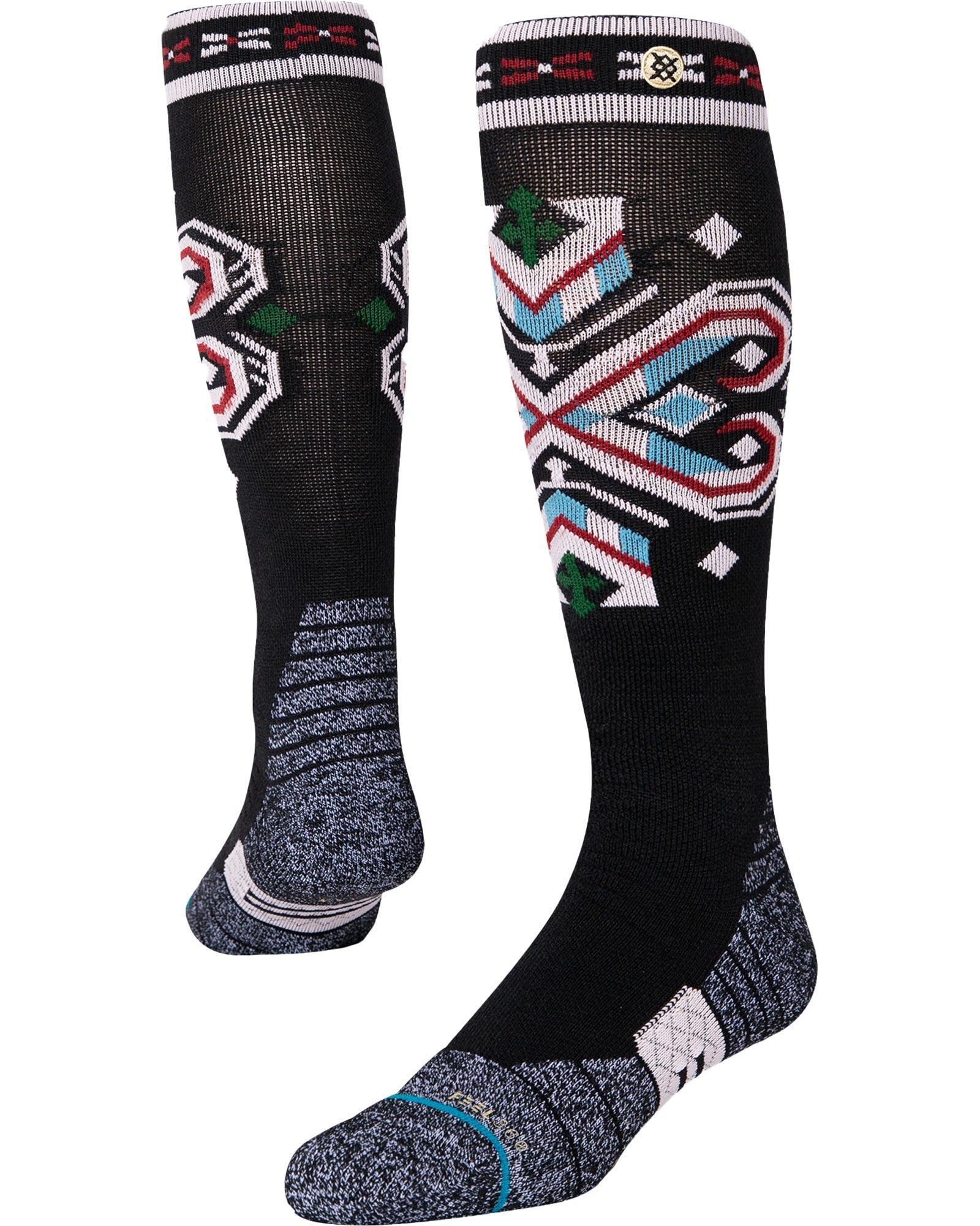 Stance Mens Black Cinder Snowboard Socks