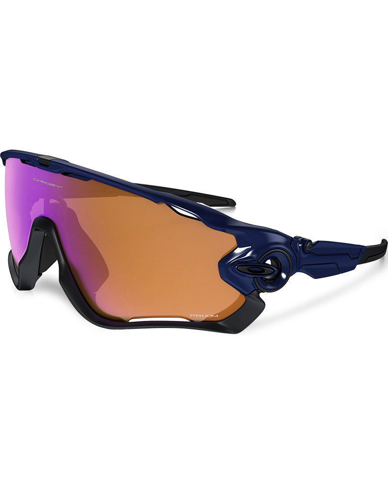 Oakley Jawbreaker Navy / Prizm Trail Sunglasses Prizm Trail 0