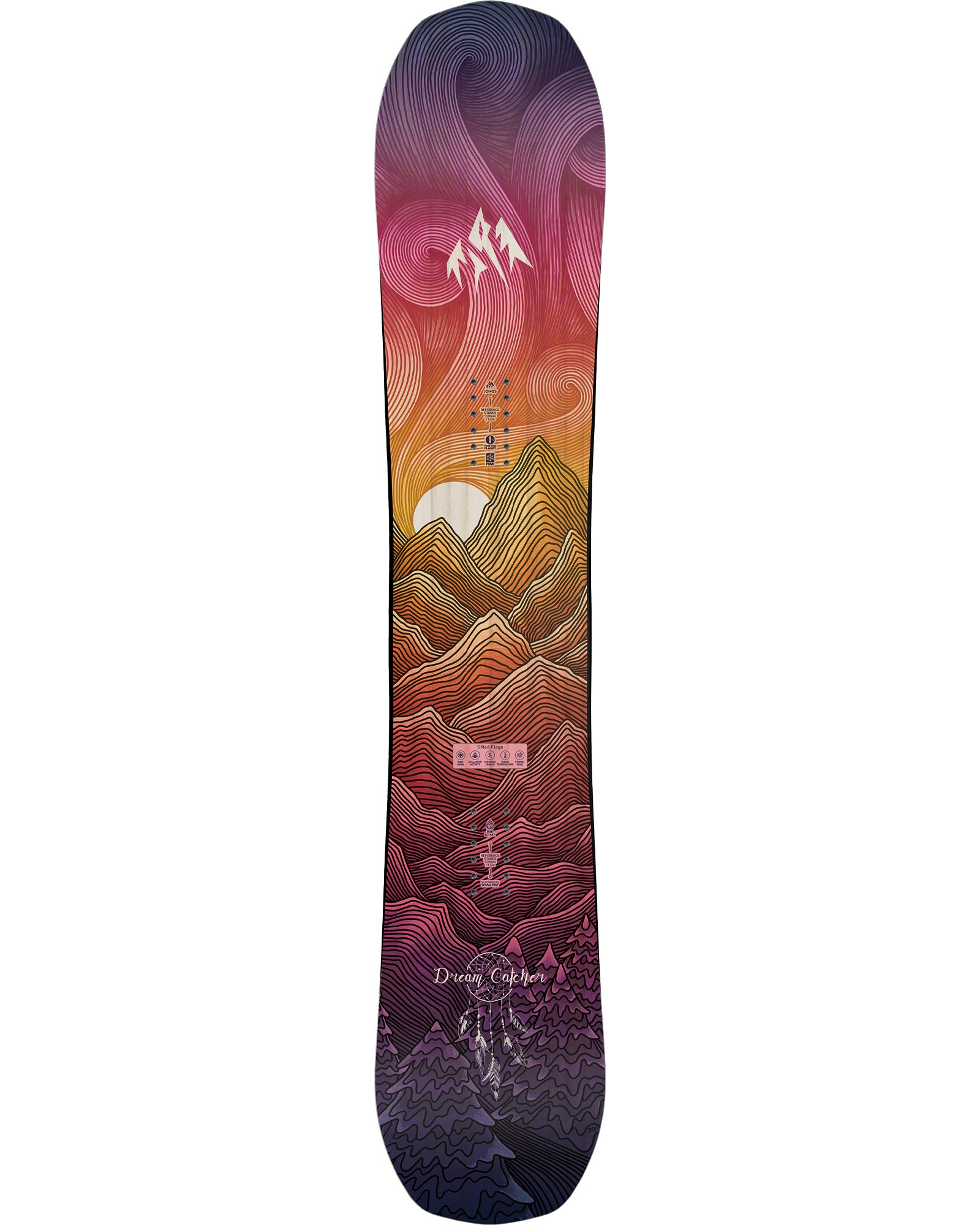Jones Dream Catcher Women's Snowboard 2021 0