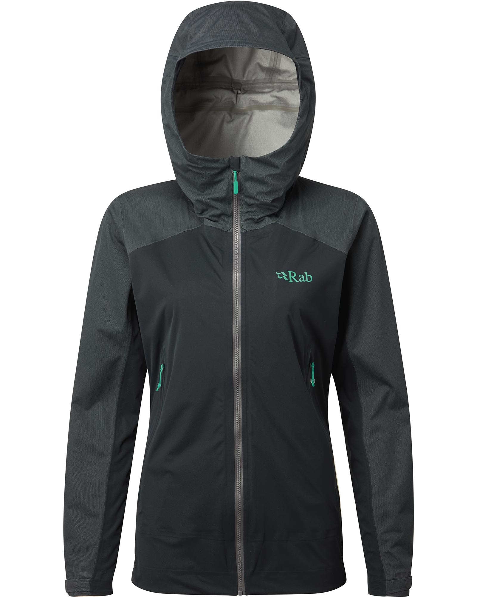 Rab Women's Kinetic Proflex Alpine Jacket Beluga 0