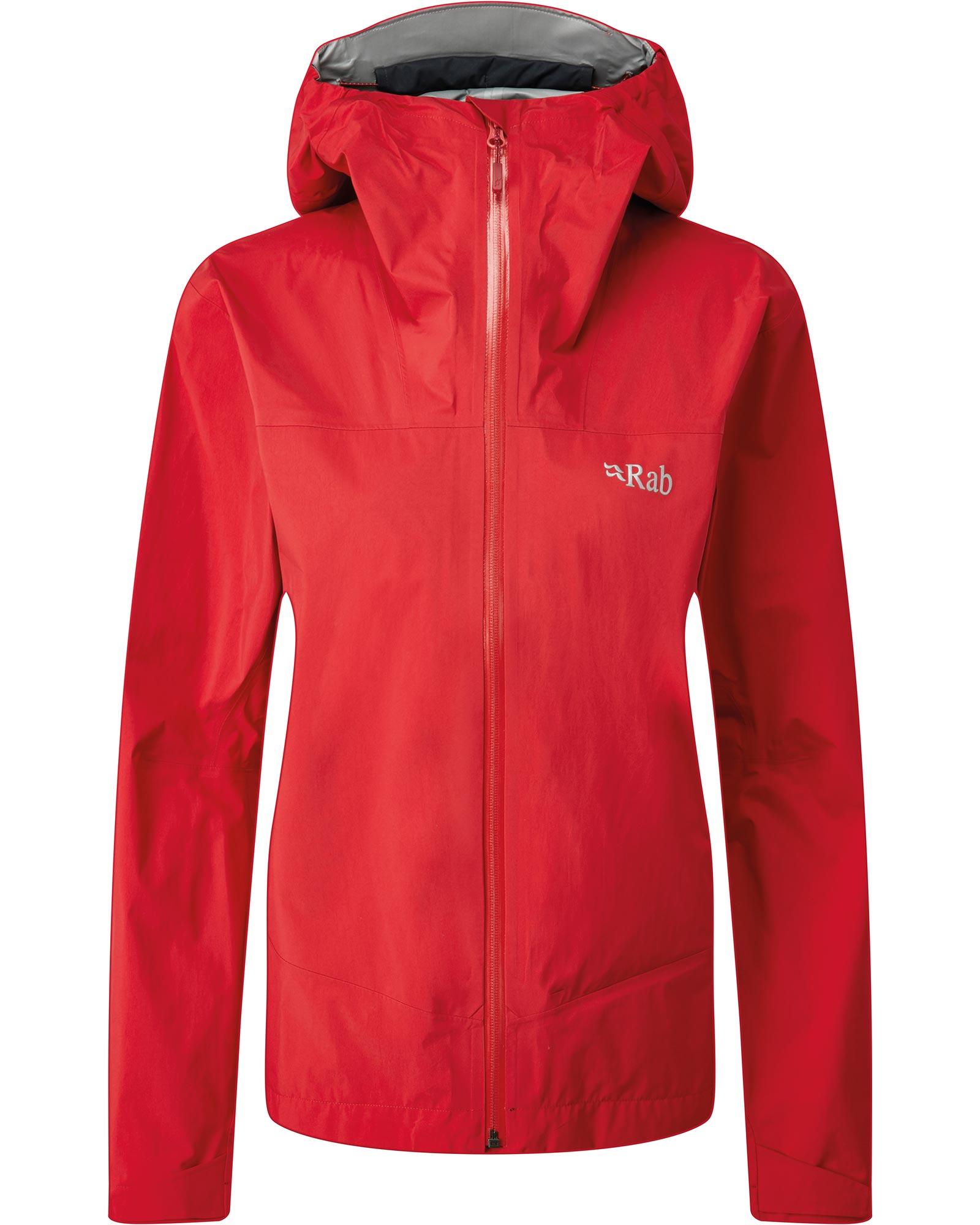 Rab Women's Meridian GORE-TEX PACLITE Plus Jacket Ruby 0