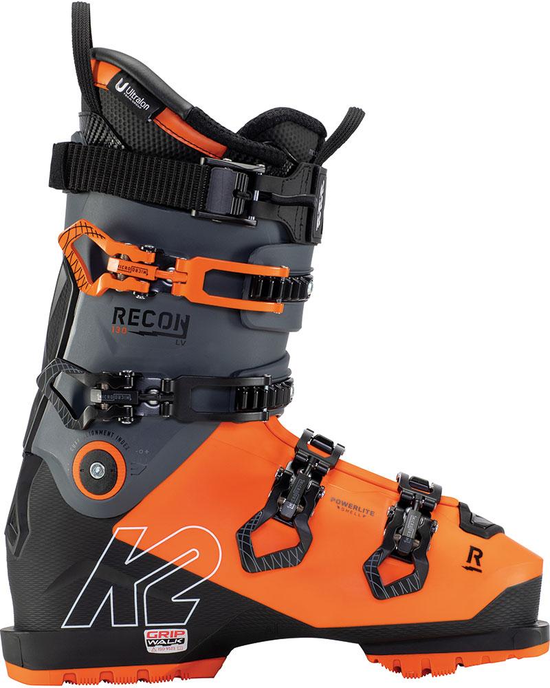 K2 Men's Recon 130 LV GripWalk Ski Boots 2020 / 2021 No Colour 0