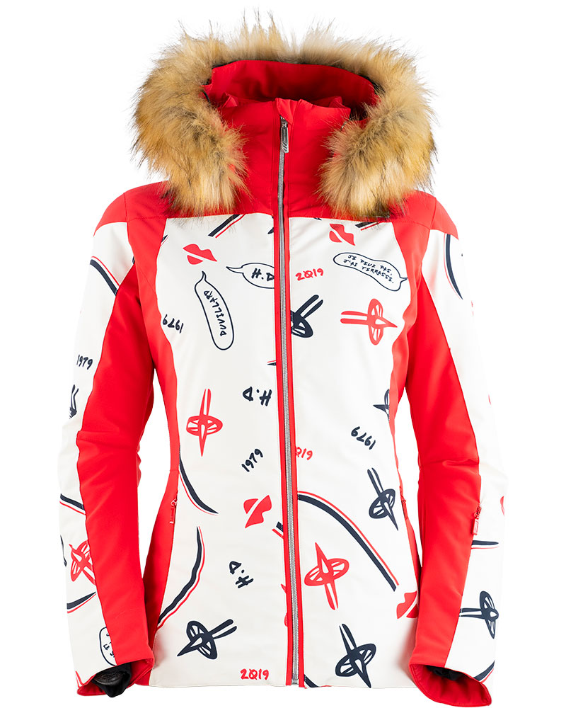 Henri Duvillard Women's Ecandies Ski Jacket - Faux Fur 0