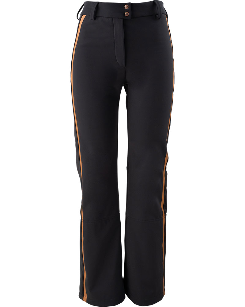 Henri Duvillard Women's Nova Softshell Ski Pants Black/Copper 0