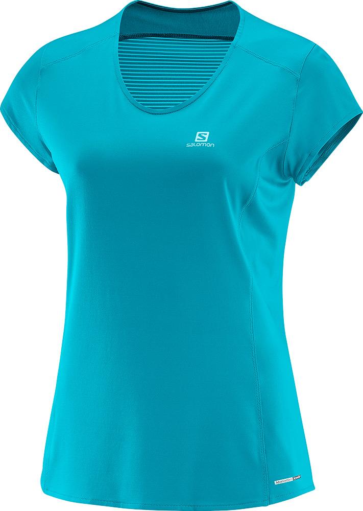 Salomon Women's Comet AdvancedSkin S/S T-Shirt 0