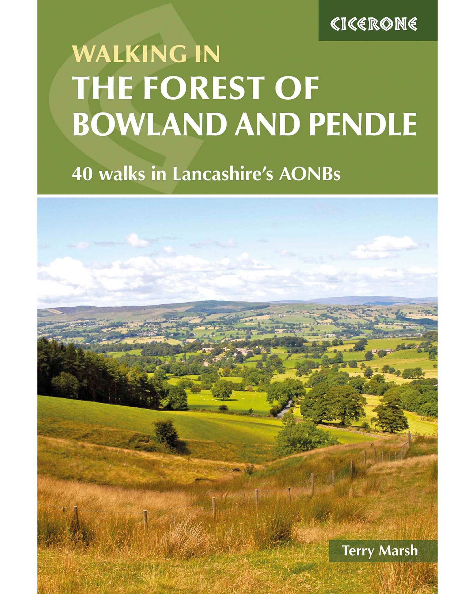 Cicerone Walking in the Forest of Bowland and Pendle 0