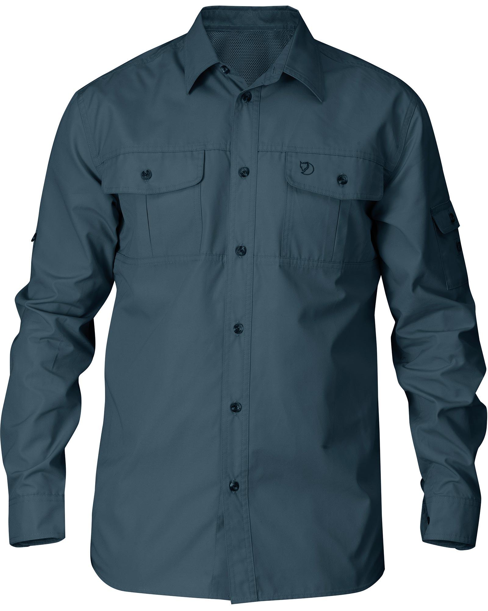 Fjallraven Men's L/S Singi G-1000 Trekking Shirt 0