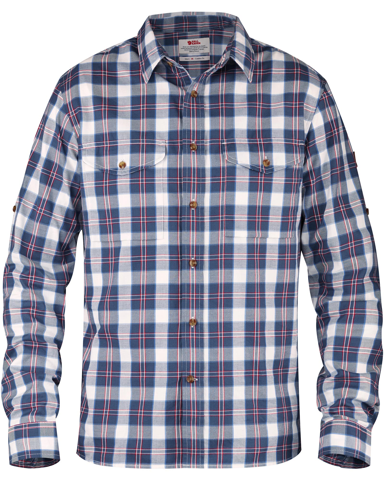 Fjallraven Men's Long Sleeve Singi Flannel Shirt 0