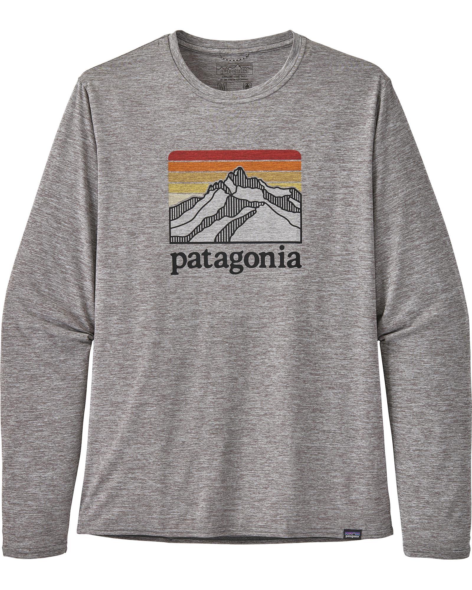 Patagonia Men's Long Sleeve Cap Cool Daily Graphic T-Shirt 0