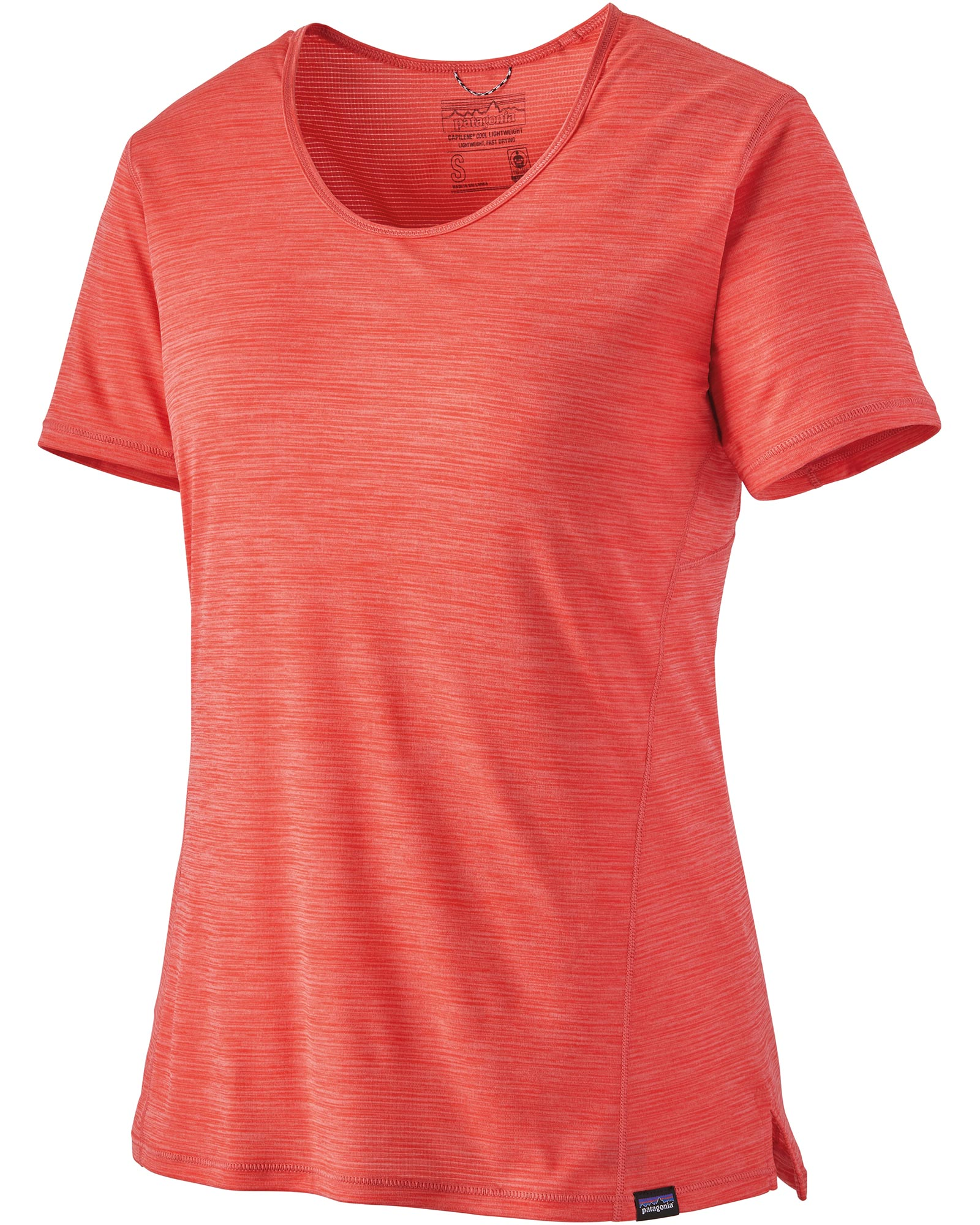 Patagonia Women's Short Sleeve Capilene Cool Lwt Shirt Catalan Coral 0