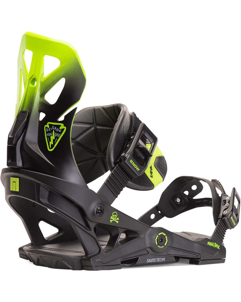 NOW Men's Brigade Snowboard Bindings 2019 / 2020 0