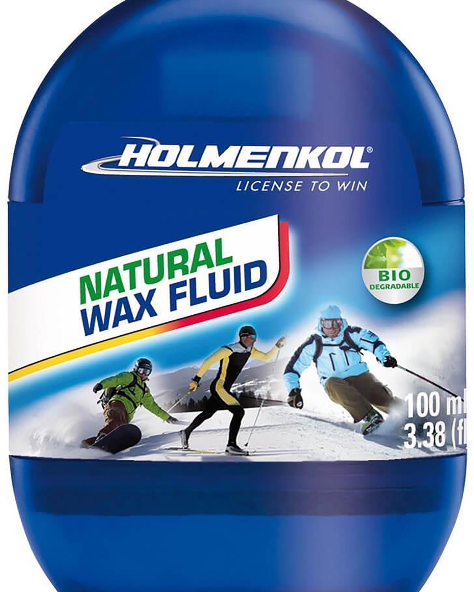 Holmenkol Natural Ski/Snowboard Wax Fluid 100ml 0