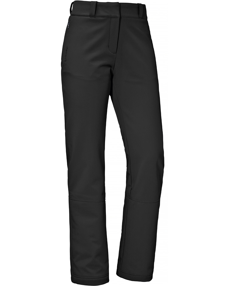 Schoffel Women's Lille Softshell Ski Pants Black 0