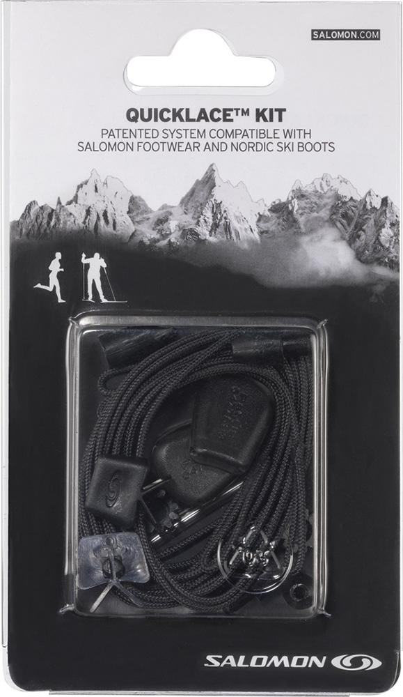 Salomon QuickLace Kit Black 0