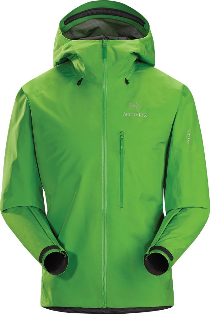 Arc'teryx Men's Alpha FL GORE-TEX Pro Waterproof Jacket Rohdei Green 0