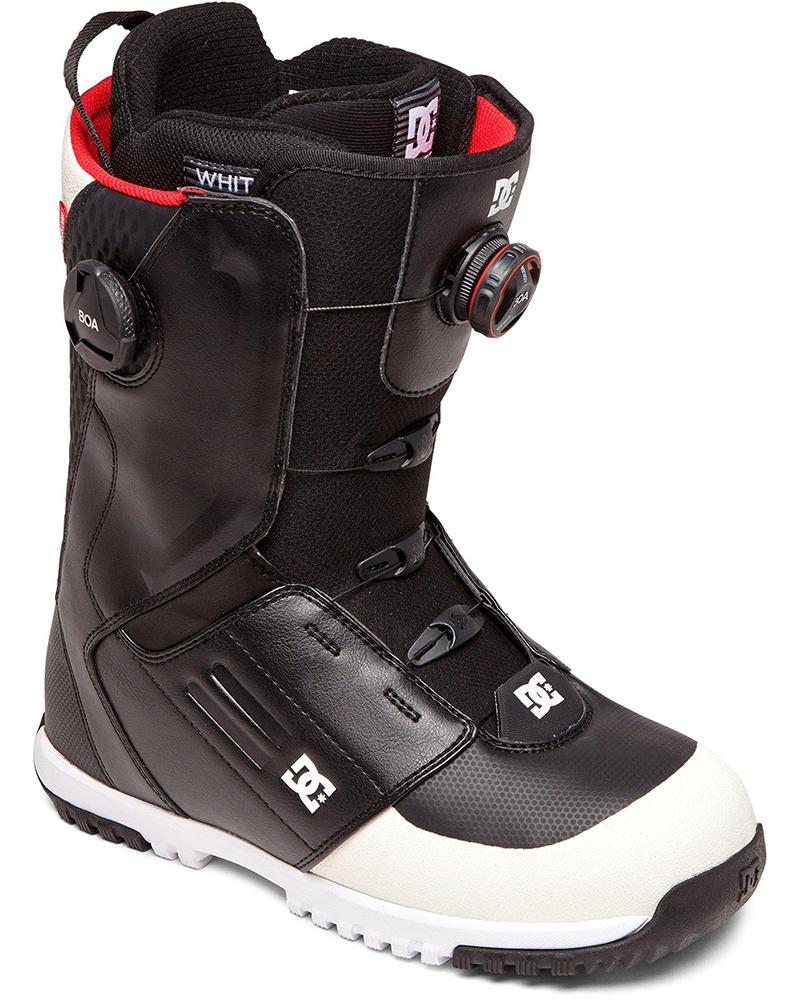 DC Men's Control Double Boa Snowboard Boots 2019 / 2020 Black 0