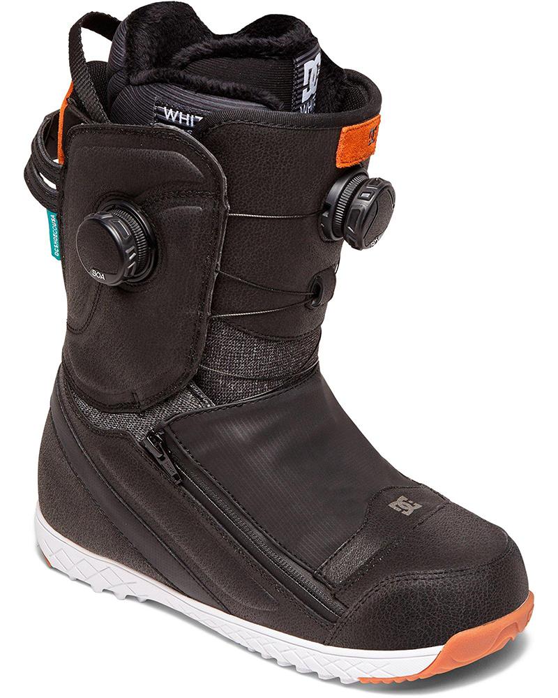 DC Women's Mora Double Boa Snowboard Boots 2019 / 2020 Black/Blue 0