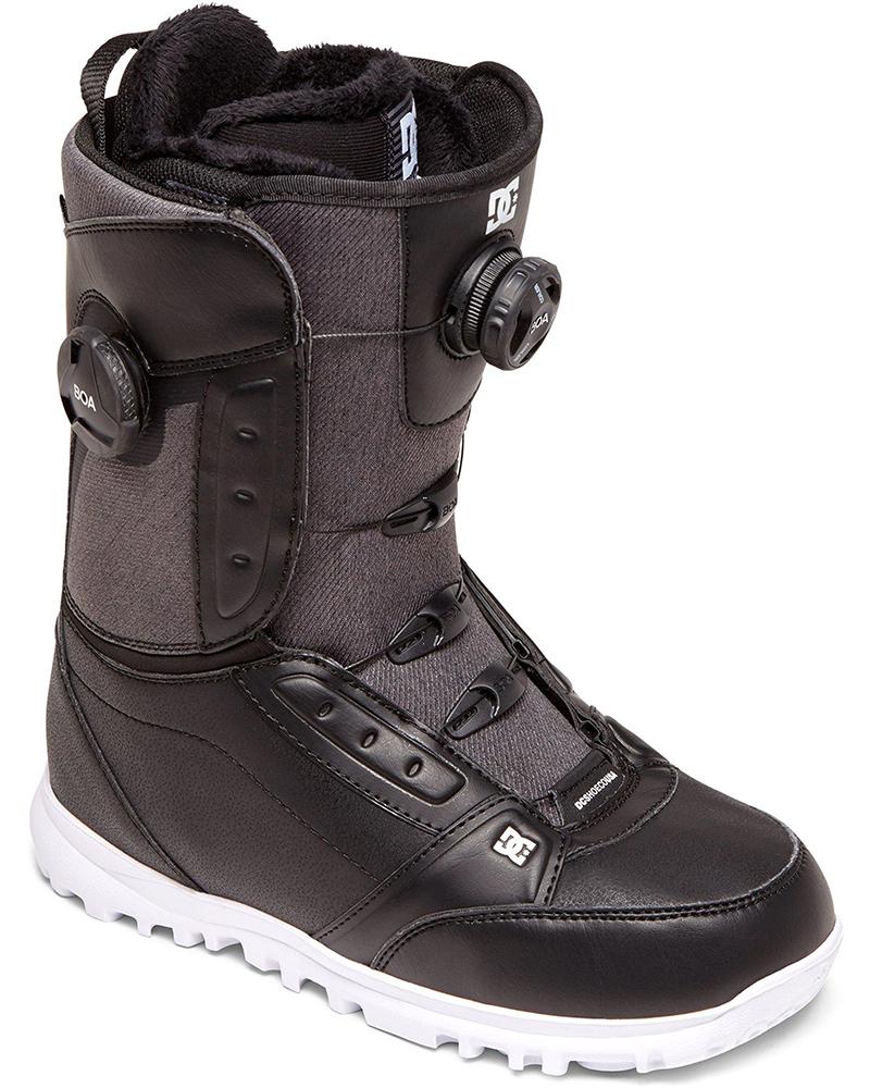 DC Women's Lotus Double Boa Snowboard Boots 2019 / 2020 Black 0