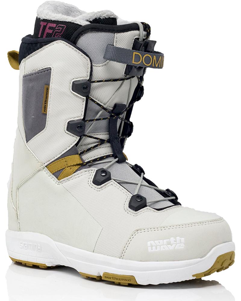 Northwave Women's Domino Snowboard Boots 2019 / 2020 Light Grey 0