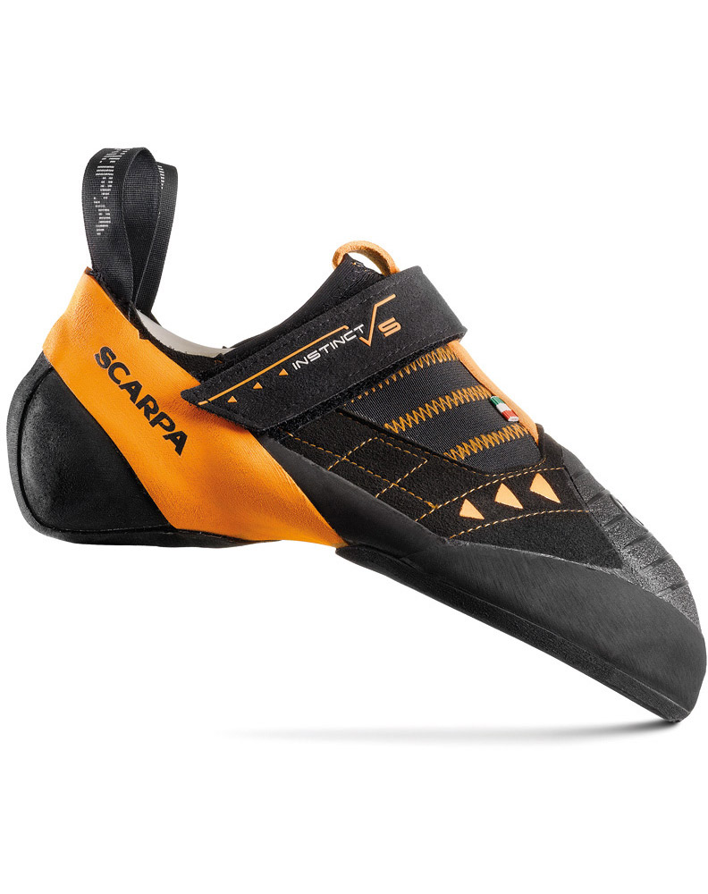 Scarpa Instinct VS Climbing Shoes Black/Orange 0