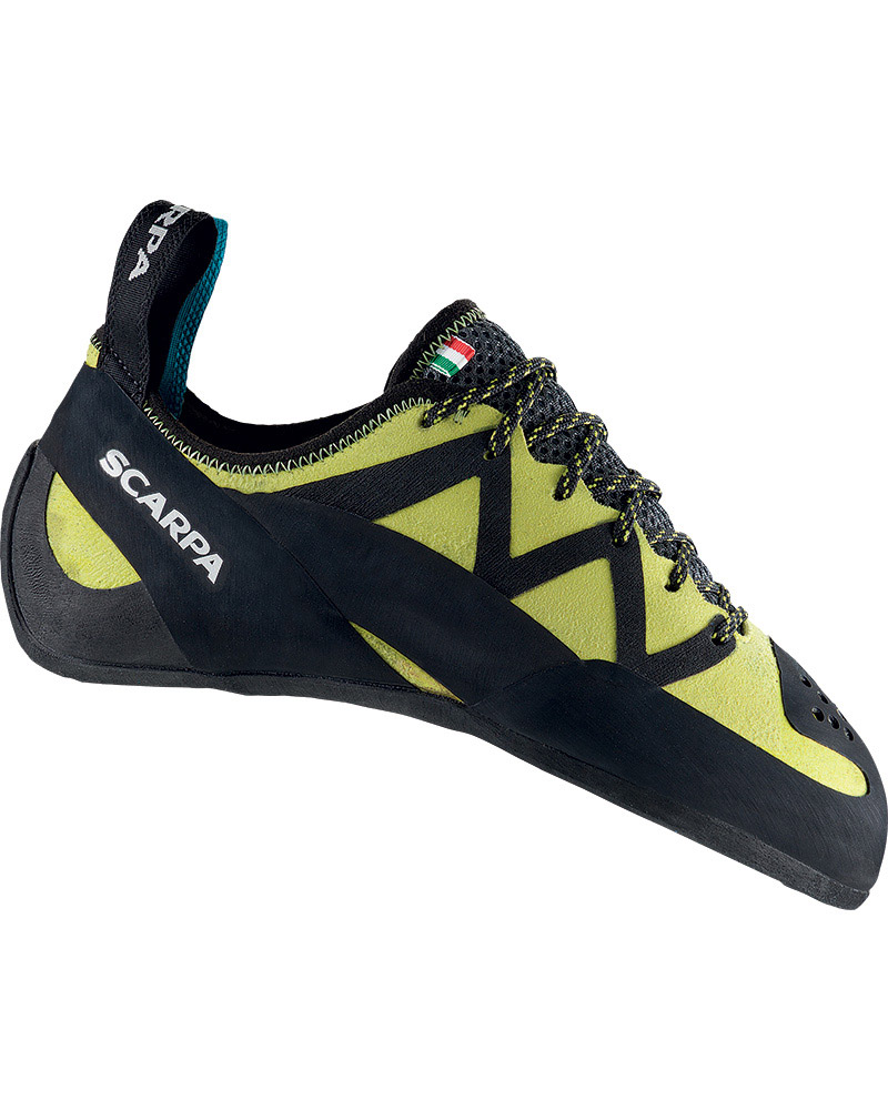 Scarpa Women's Vapour Lace Climbing Shoes  Lime 0