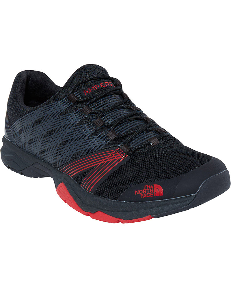 The North Face Men's Litewave Ampere II Trail Running Shoes TNF Black/TNF Red 0