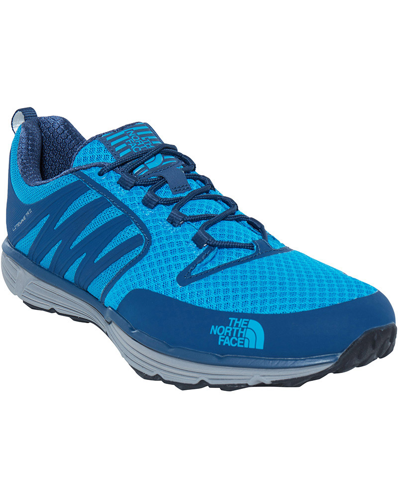 The North Face Men's Litewave TR II Trail Running Shoes Shady Blue/Hyper Blue 0