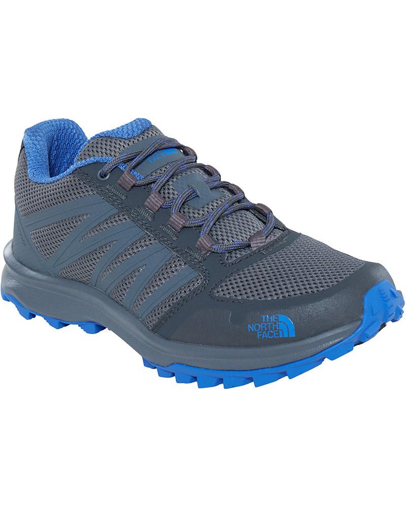 The North Face Women's Litewave Fastpack Walking Shoes Zinc Grey/Amparo Blue 0