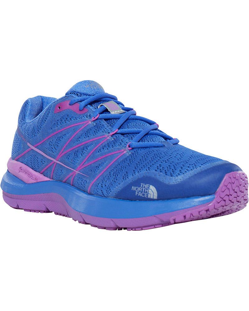 The North Face Women's Ultra Cardiac II Trail Running Shoes Amparo Blue/Sweet Violet 0
