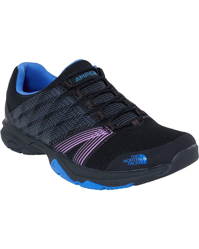 The North Face Women's Litewave Ampere II Trail Running Shoes TNF Black/Amparo Blue 0